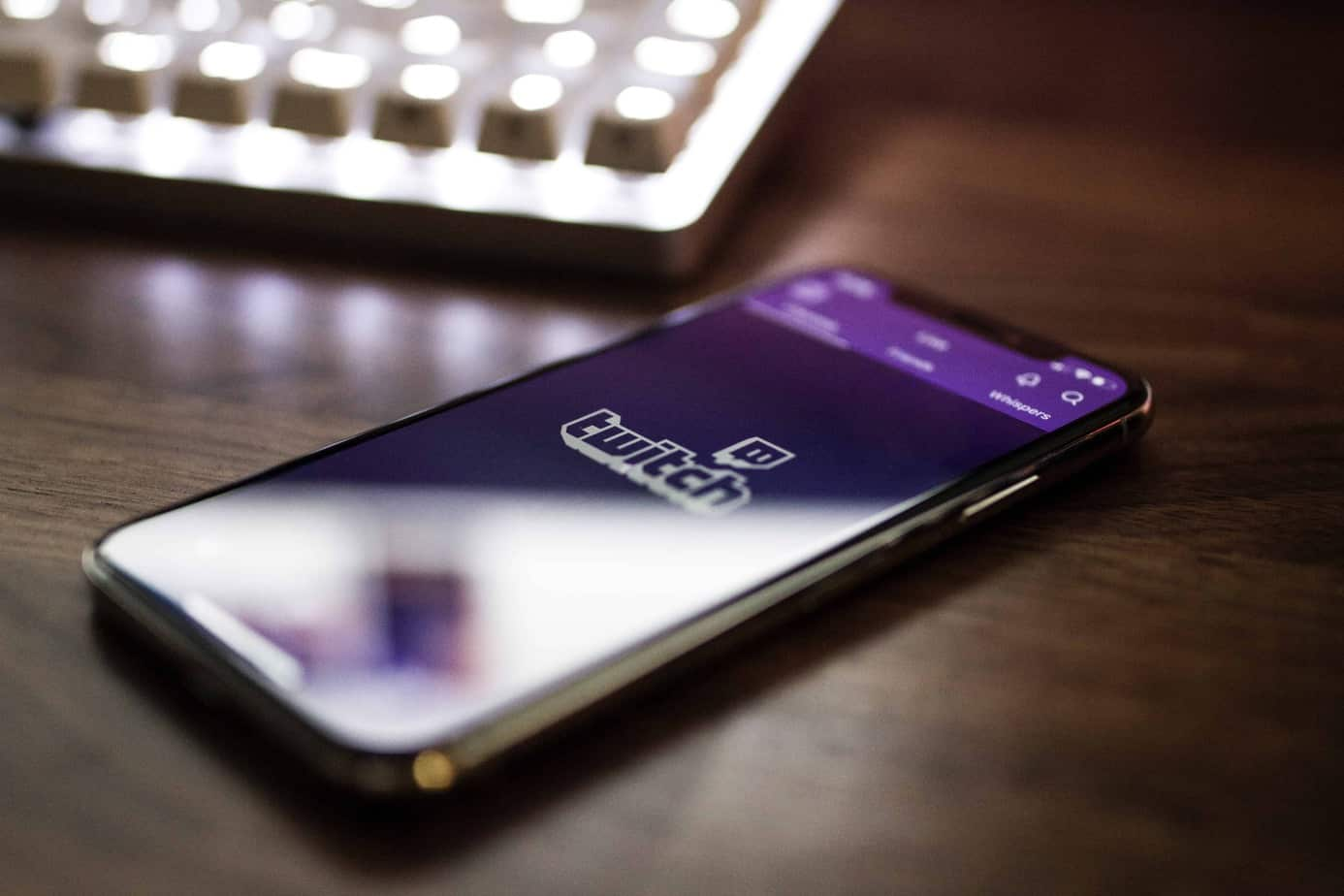 Twitch on a cell phone