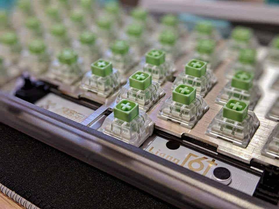 Kailh Box Jade mechanical keyboard switch