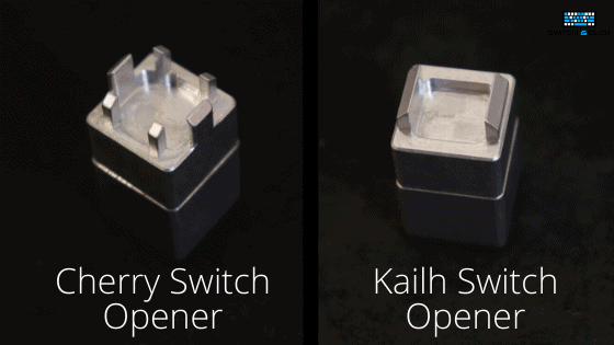 Cherry vs Kailh switch opener comparison