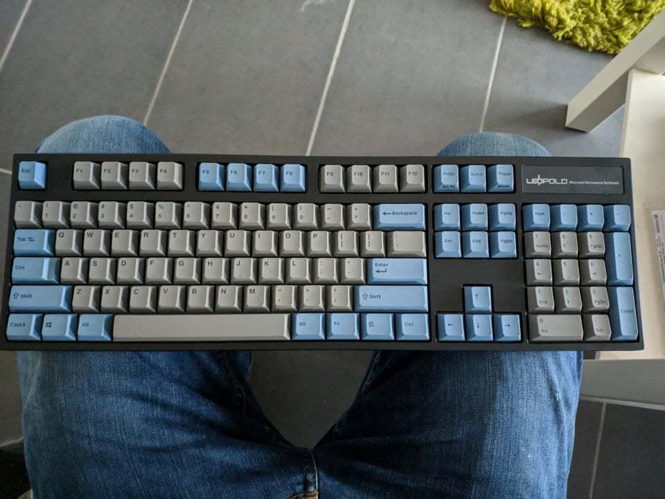 Leopold FC900R mechanical keyboard