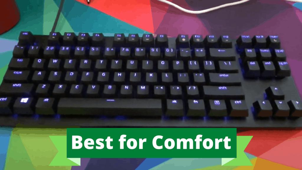 Razer Huntsman TE mechanical keyboard