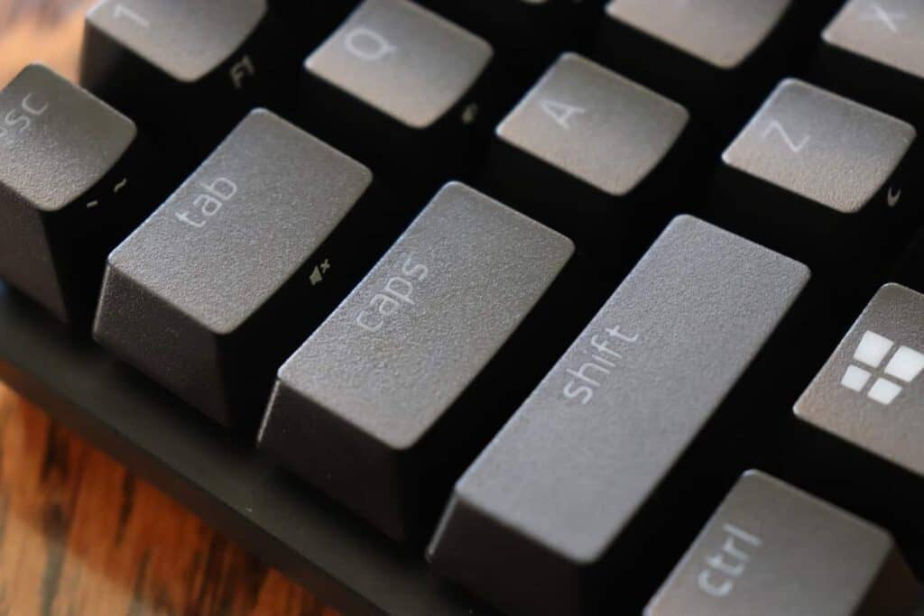 Razer Huntsman Mini PBT doubleshot keycaps