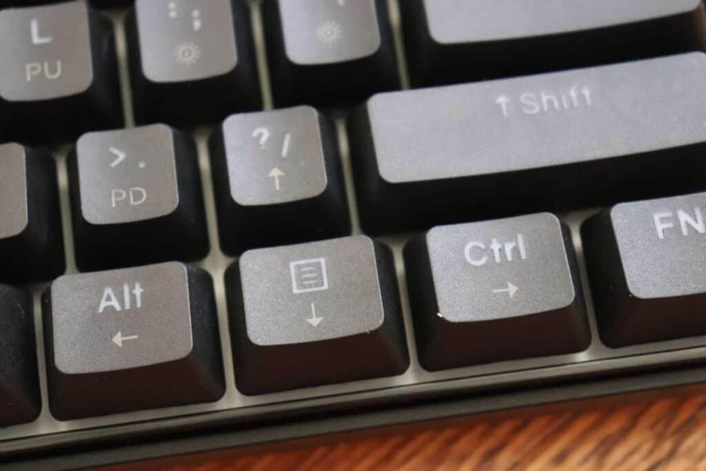 Kemove DK61 Snowfox Arrow Keys