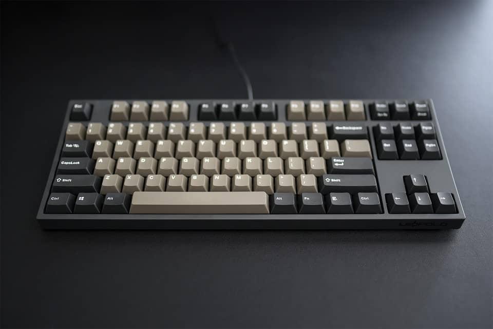 Pre-built tenkeyless mechanical keyboard