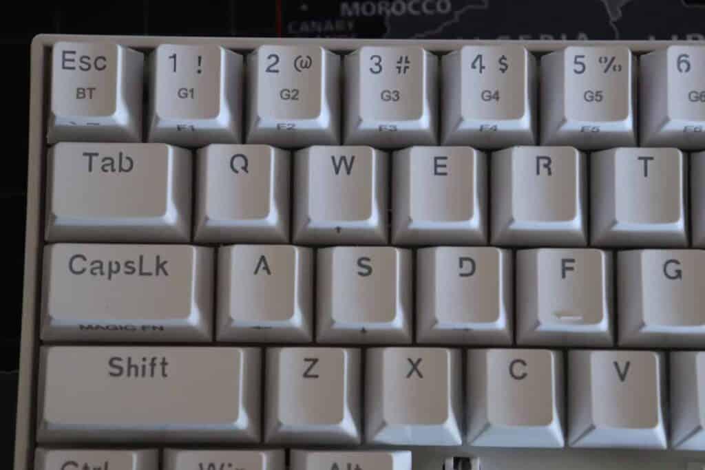 Redragon Draconic K530 keycaps
