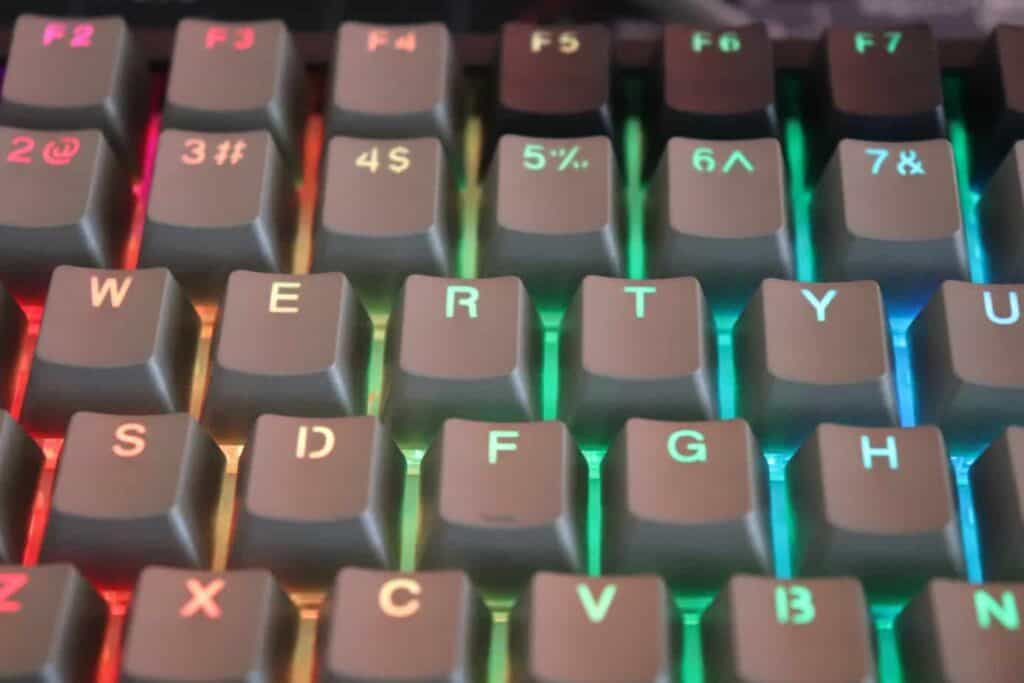Epomaker EP84 RGB keycaps