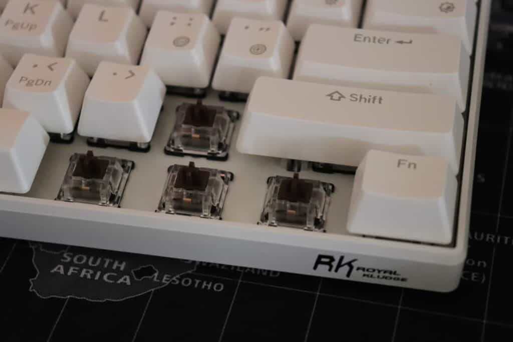 Royal Kludge RK61 switches