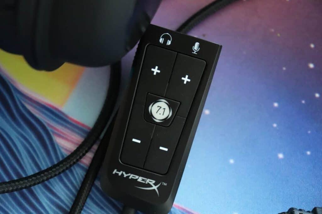 USB audio card for HyperX Cloud 2