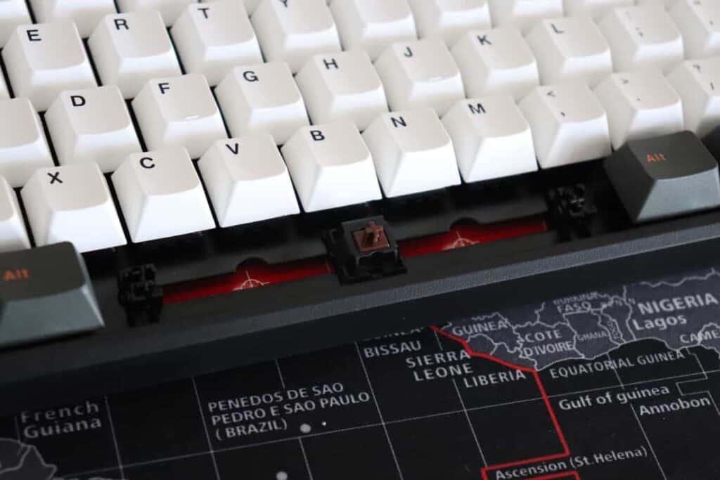Stabilizers on Mistell X-VIII mechanical keyboard