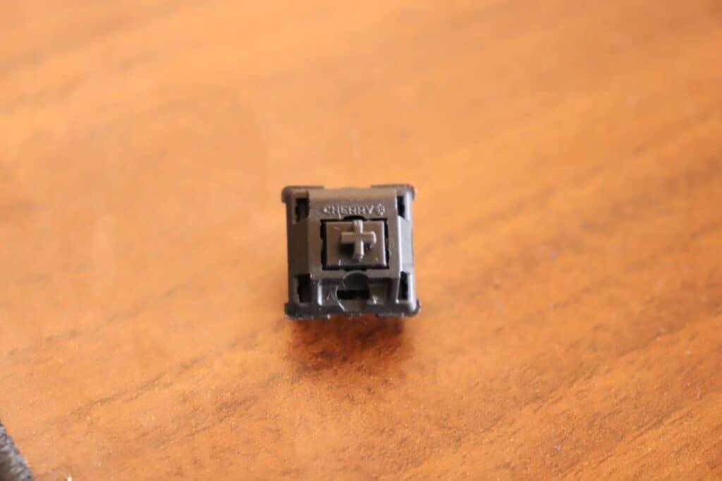 Cherry MX Black mechanical keyboard switch