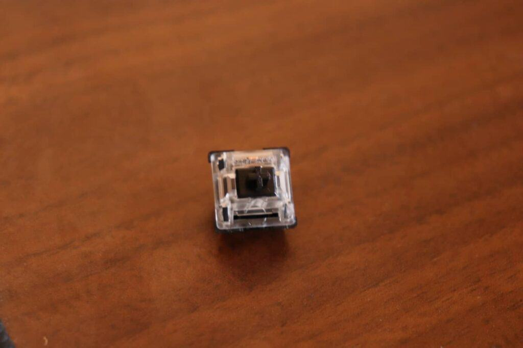 Gateron Black mechanical keyboard switch