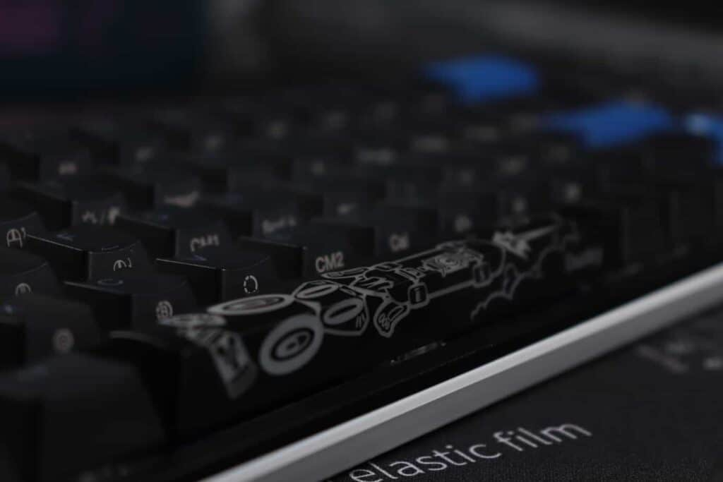 Ducky One 2 SF year of the rabbit spacebar