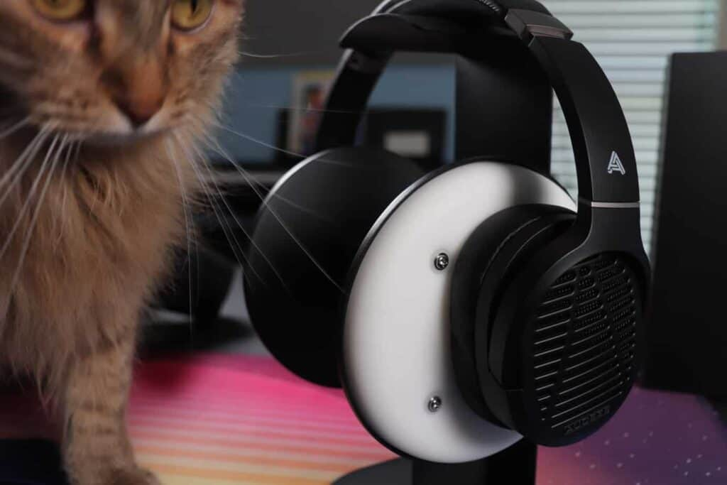 Audeze LCD-1 on headphone stand