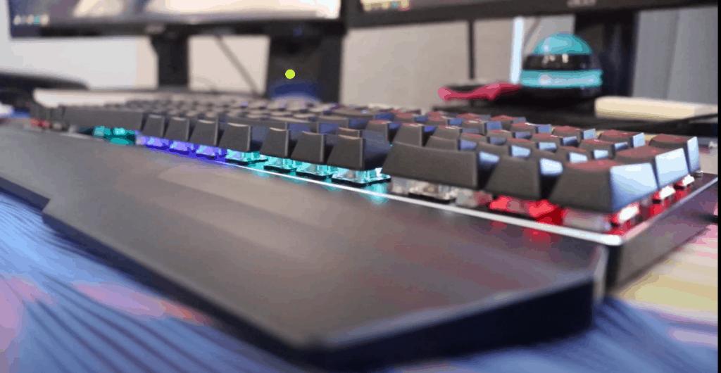 Front view of Havit Keyboard