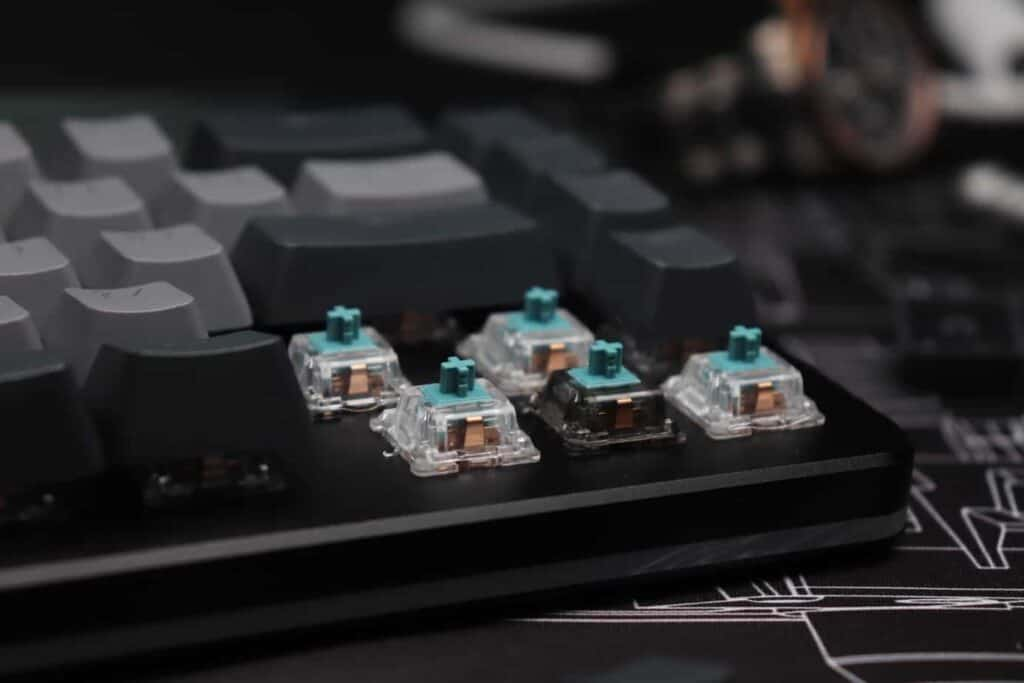 Switches on Drop Alt mechanical keyboard