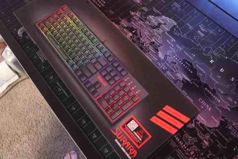box for Redragon K582 Surara mechanical keyboard