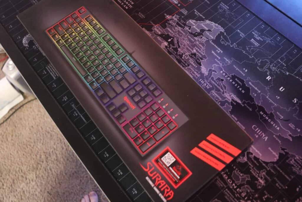 Redragon K582 budget RGB keyboard