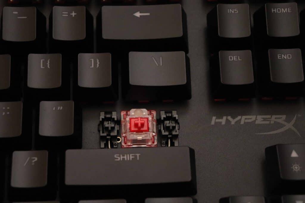 Front profile of HyperX Alloy Origins Core