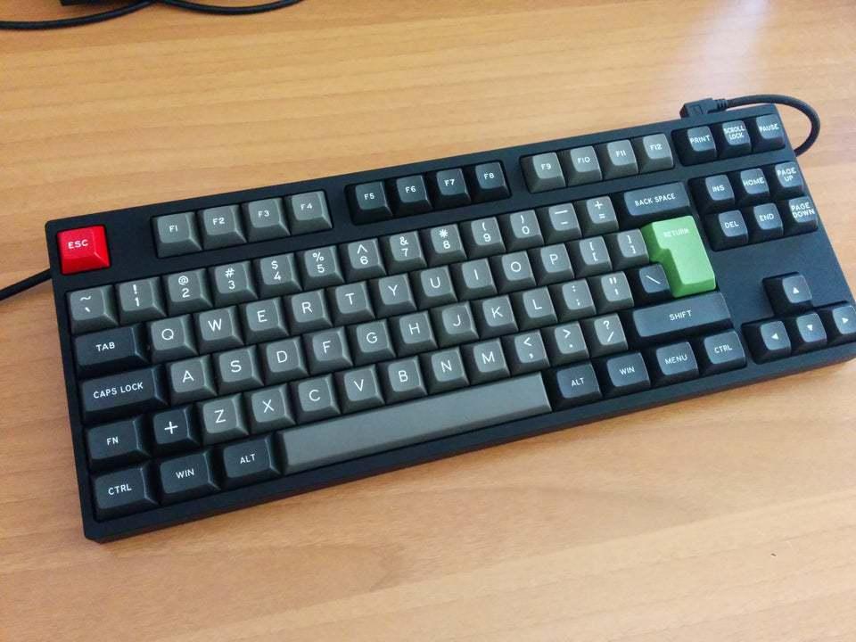 Cooler Master Novatouch TKL mechanical keyboard