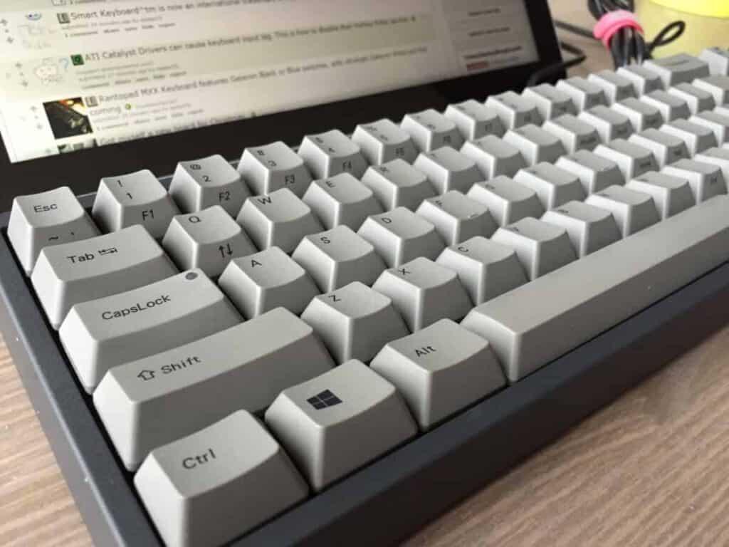 Leopold FC660C mechanical keyboard
