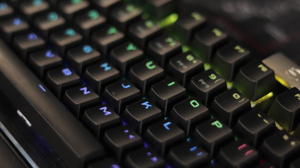 Keycaps of EVGA Z15