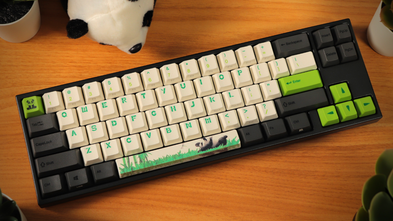 Ducky MIYA Pro Panda 65% Keyboard